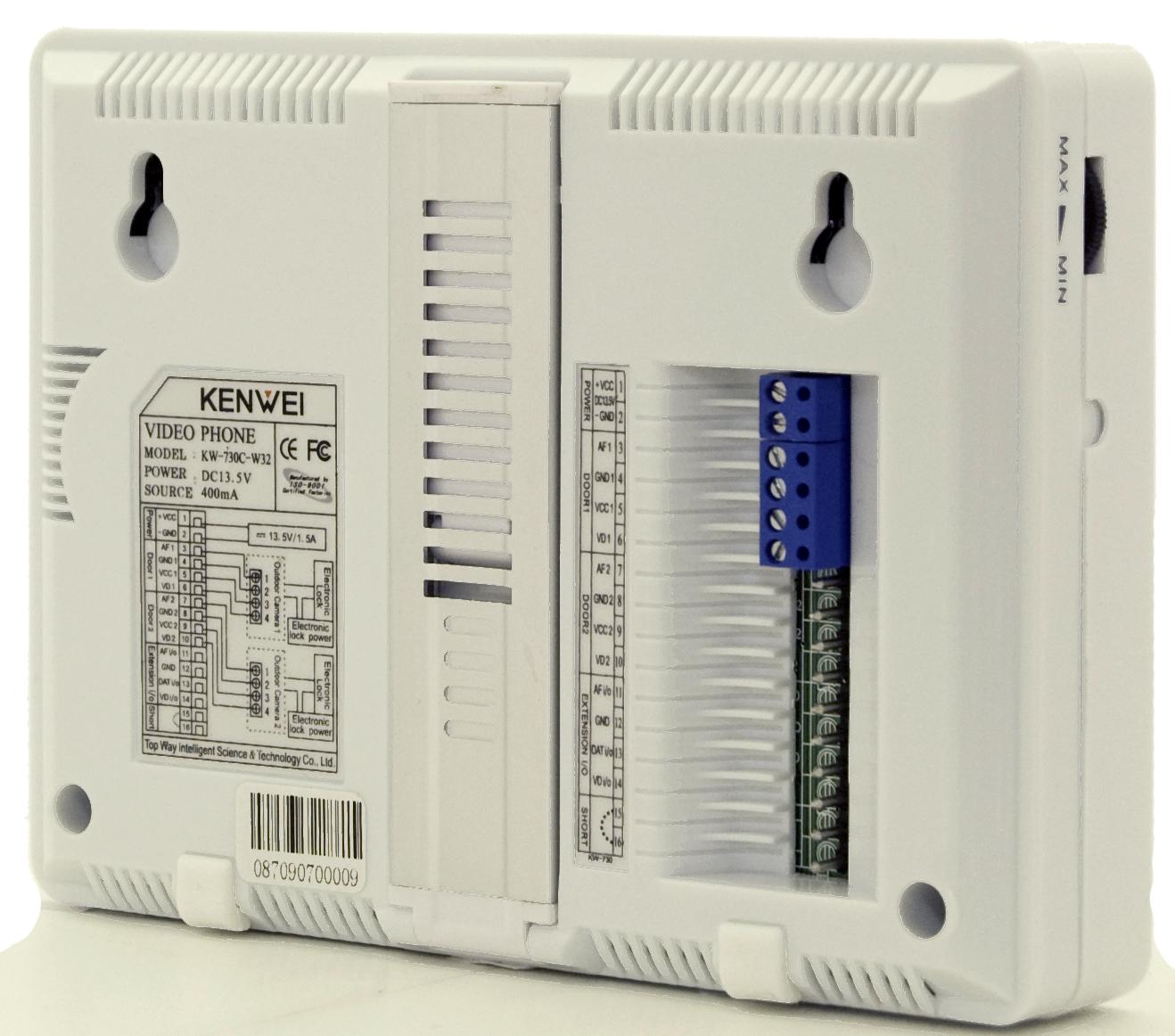 kenwei kw 730 c w32 схема подключения второй камеры
